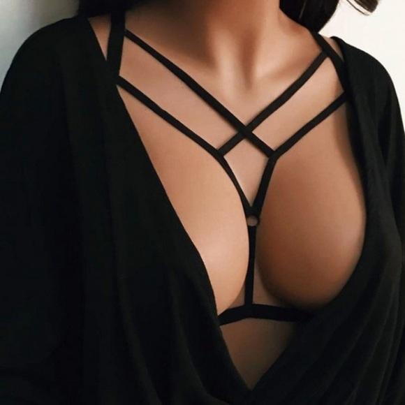 Flash Sale Sexy Black Bra Harness fff04f2ad